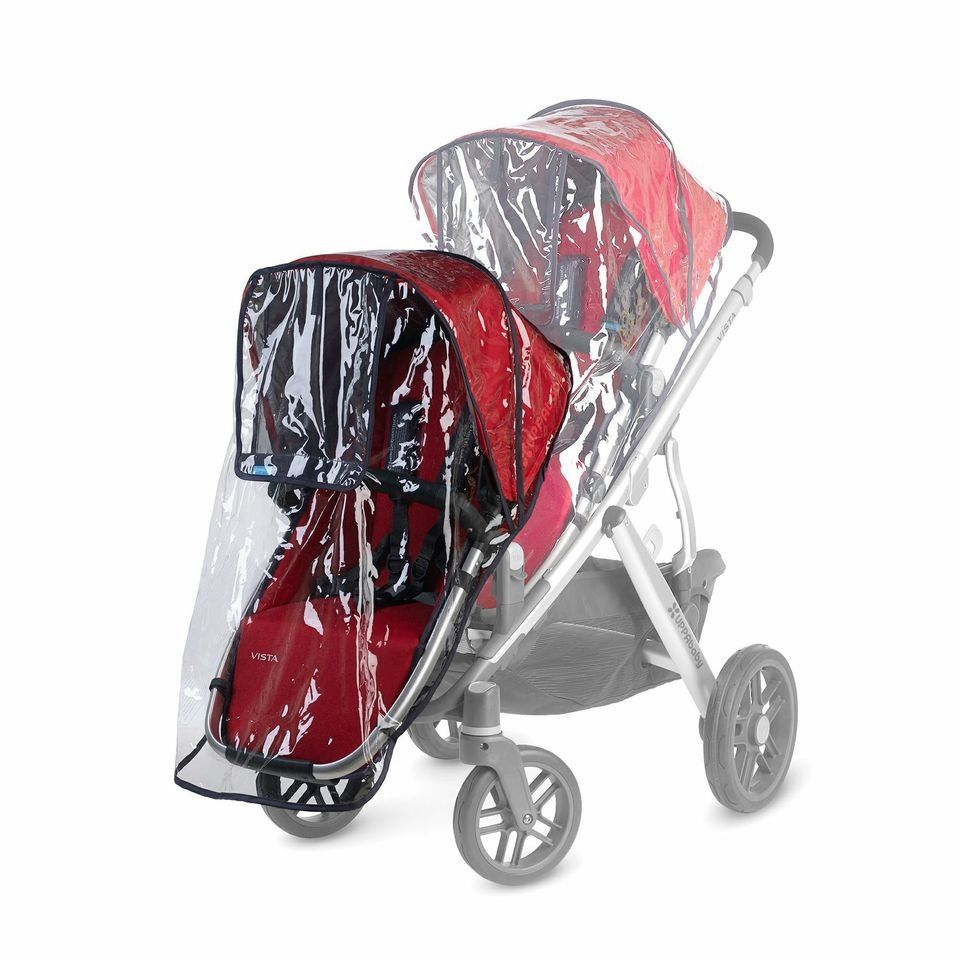 gear UPPAbaby VISTA rumbleseat rain shield