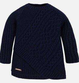 girl braided sweater
