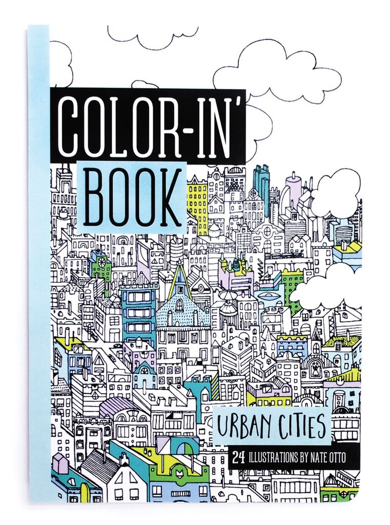 playtime urban cities color book