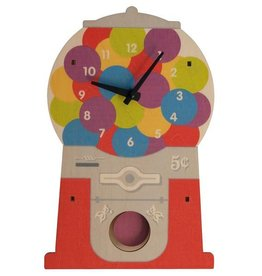 decor modern moose gumball clock