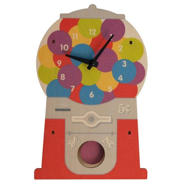 decor gumball clock