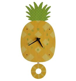 decor modern moose pineapple pendulum clock