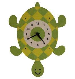 decor modern moose turtle pendulum clock