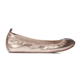 girl yosi samra metallic flat