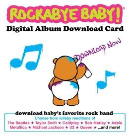 playtime Rockabye Baby Digital Download Card