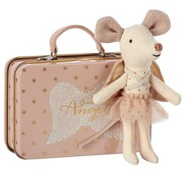 playtime guardian angel mouse in suitcase