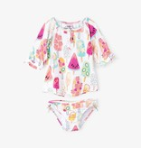 girl hatley rashguard set
