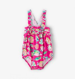9865257969 hatley rashguard set. $45.00. girl hatley ruffle swimsuit