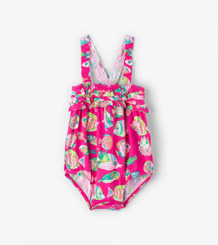 baby girl hatley ruffle swimsuit