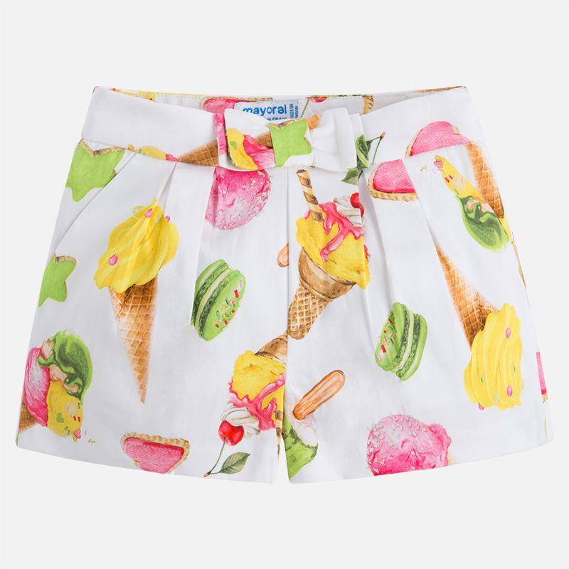 girl satin shorts