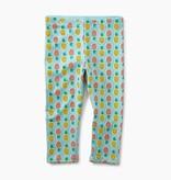 master pineapple capri leggings