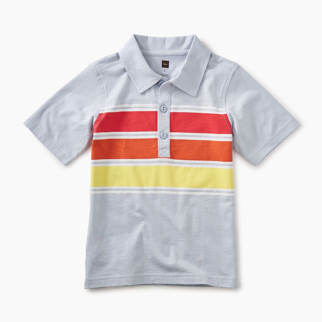 master chest stripe polo