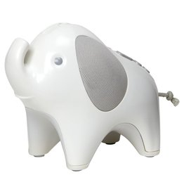 decor skip hop elephant nightlight soother