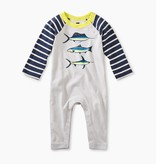 master deep sea raglan graphic romper