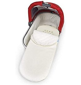gear UPPAbaby bassinet mattress cover, natural
