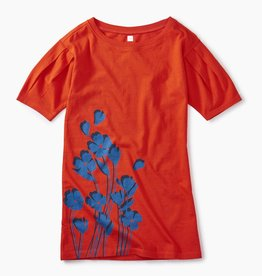 master *sale* tea collection breezy floral graphic dress