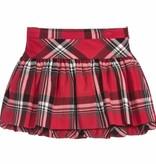 girl mayoral plaid skirt