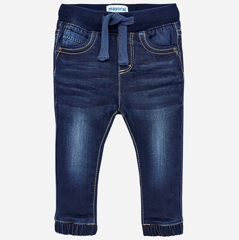 little girl mayoral denim joggers