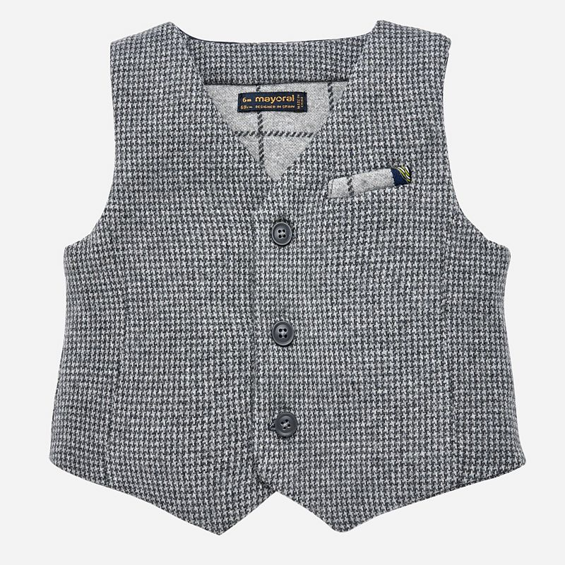 baby mayoral dressy vest