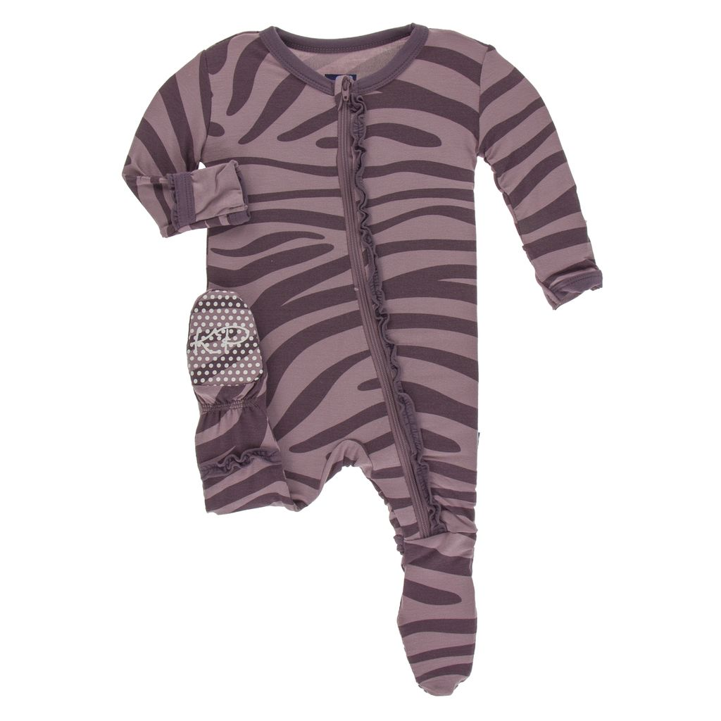 baby kickee pants print ruffle footie (more colors)