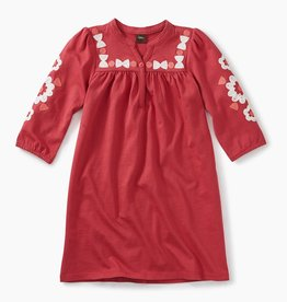 master **sale** embroidered henley dress