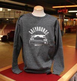 Charcoal Crew Sweater Medium