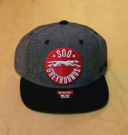 CCM Chambray Snap Cap