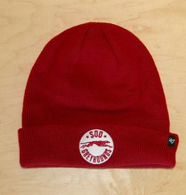 47 Red Cuff Toque