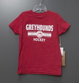 Campus Crew Red Youth Tee - XL