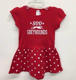 Infant Dress Red Dot 12 months