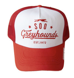 Gongshow Red & White Cap