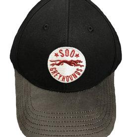 Black Gilyard Adj. Hat
