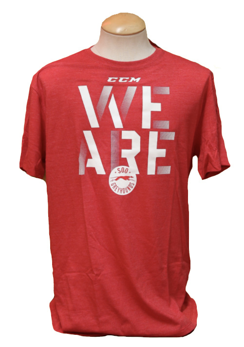 "CCM ""We Are"" Red Tee"