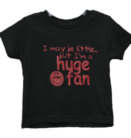 Huge Fan Toddler Black Tee