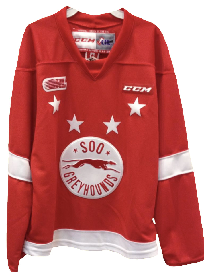 Youth Red Replica Jersey