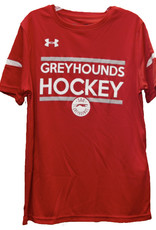 Under Armour Youth Red Tee