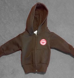 Black Infant Full Zip Hoody - 18-24 months