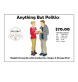 Anything but Politics British Strong Ale 5 Gal Beer Recipe Kit