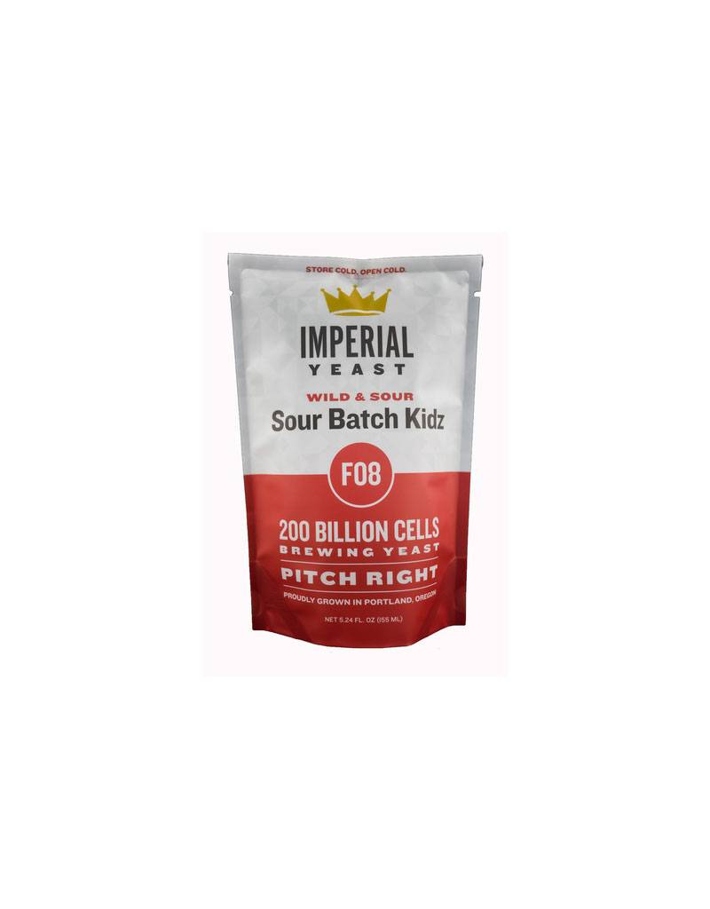 Imperial Yeast F08 Sour Batch Kidz Pitch Right Pouch