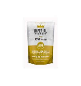 Imperial Yeast A20 Citrus Pitch Right Pouch