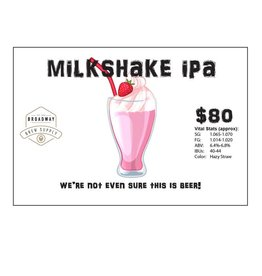 Milkshake IPA 5 Gal Beer Recipe Kit