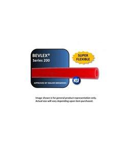 "Bevlex Red Gas Line 5/16"" ID x 9/16"" OD"