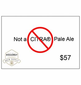 Not A Citra Pale Ale 5 Gallon Beer Recipe Kit