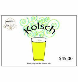 Yard Work Kolsch 5 Gal Beer Recipe Kit