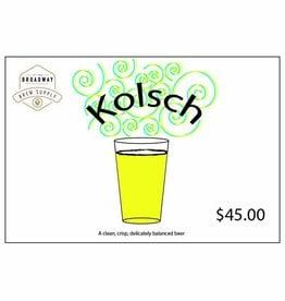 Yard Work Kolsch 5 Gal Beer Recipe Kit