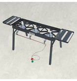 Bayou Classic Triple Burner Patio Stove, 10-psi