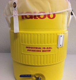 10-Gallon Igloo Cooler Mash Tun w/Brew Bag & Bulk Head