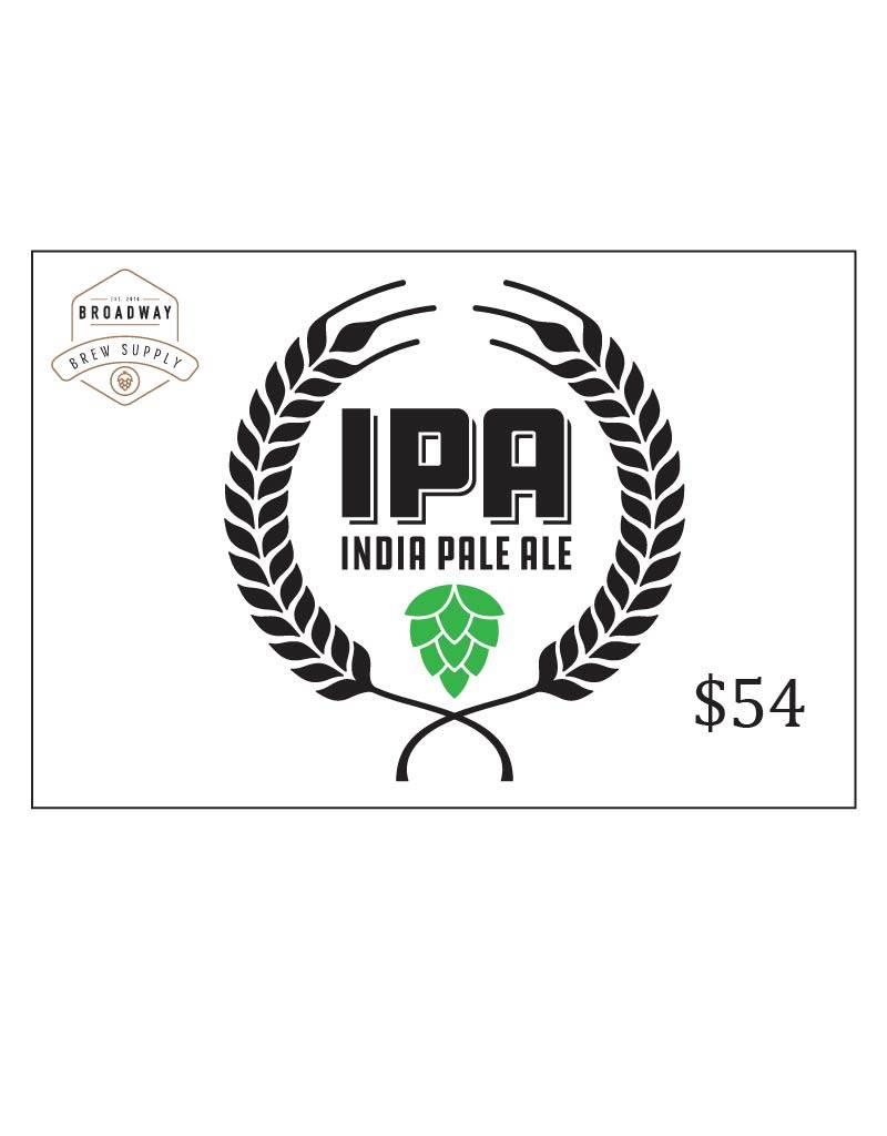India Pale Ale 5 Gal Beer Recipe Kit