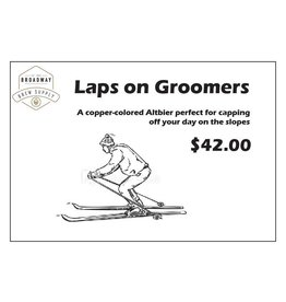 Laps on Groomers 5 Gal Beer Recipe Kit