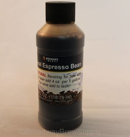 Brewer's Best Natural Espresso Bean Flavoring – 4 Oz